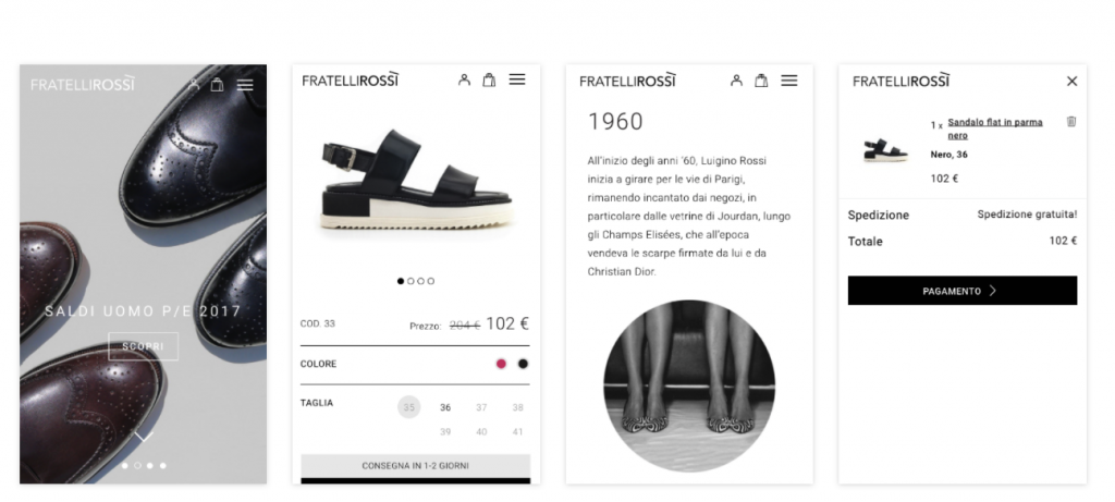 Caso restyling ecommerce mobile